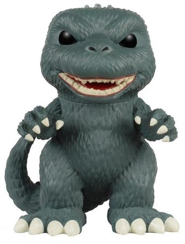 POP! Movies Godzilla figure, produced by Funko. Front view.