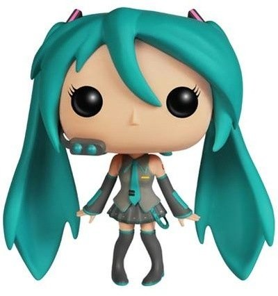 POP! Vocaloids - Hatsune Miku figure by Funko, produced by Funko. Front view.