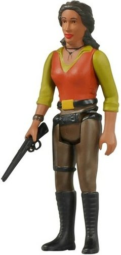 ReAction Firefly - Zoe Washburne figure by Super7, produced by Funko. Front view.