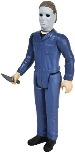 ReAction Horror Series - Michael Myers figure by Super7, produced by Funko. Front view.