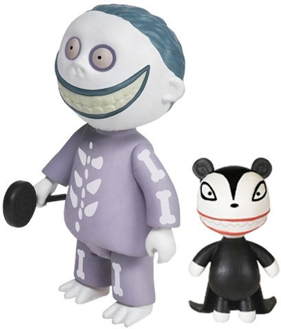 reaction the nightmare before christmas barrel figure by super7 produced by funko front - Barrel Nightmare Before Christmas