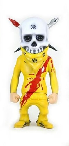 Rebel Ink - Kill Bill figure by Zukaty, produced by Secret Base. Front view.