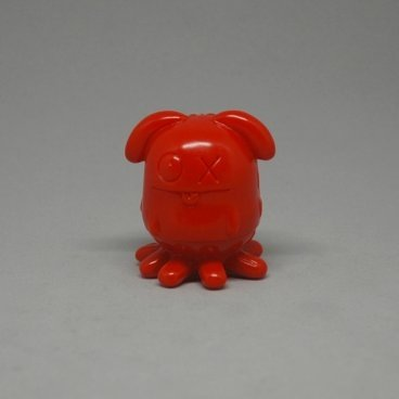 Red Ox figure by David Horvath, produced by Toy Art Gallery. Front view.