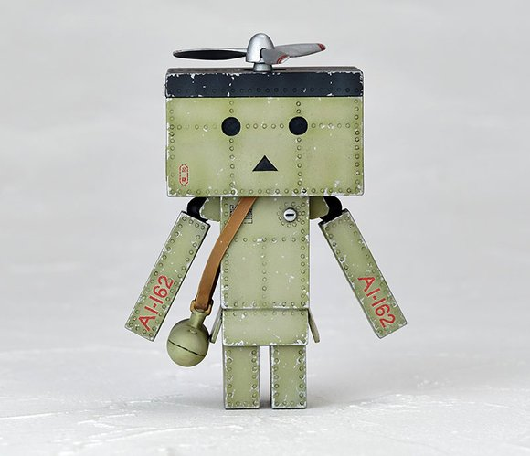 Revoltech Danboard mini Zero Fighter Type-21 Ver. figure by Enoki Tomohide, produced by Kaiyodo. Front view.