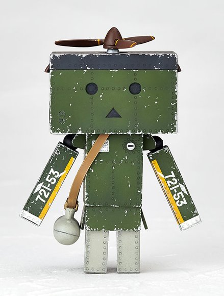 Revoltech Danboard mini Zero Fighter Type-52 Ver. figure by Enoki Tomohide, produced by Kaiyodo. Front view.