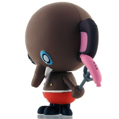 Rolo figure by Tado, produced by Kidrobot. Side view.