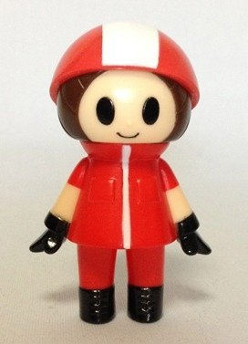 Sagyoheru / short sleeved figure by P.P.Pudding (Gen Kitajima), produced by P.P.Pudding (Gen Kitajima). Front view.