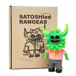 Satoshied Rangeas figure by T9G X Dehara, produced by Paradise. Packaging.