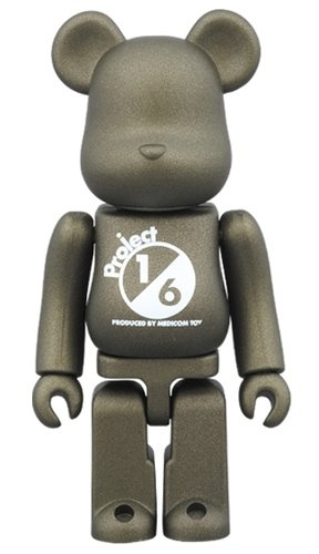 BE@RBRICK SERIES 33 RELEASE CAMPAIGN  Project 1/6 Special Edition figure, produced by Medicom Toy. Front view.
