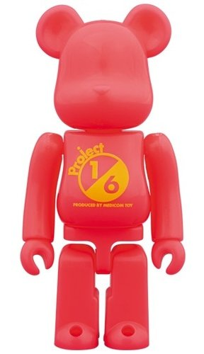 SERIES 37 Release campaign Specianl Edition BE@RBRICK 100% figure, produced by Medicom Toy. Front view.