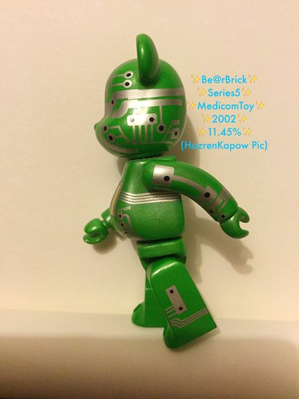 SF Be@rbrick Series 5 figure, produced by Medicom Toy. Back view.