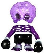 Skull Brain - Purple Full Color figure by Secret Base, produced by Secret Base. Front view.