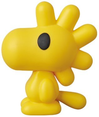 Snoopy & Woodstock - VCD No.226 figure by Bape, produced by Medicom Toy. Side view.