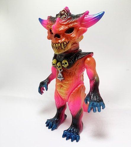 SPLURRT x DHP APALALA (5 POINTS FEST 2019) figure by Toby Dutkiewicz X Splurrt (Joe Merrill), produced by Devils Head Productions. Front view.