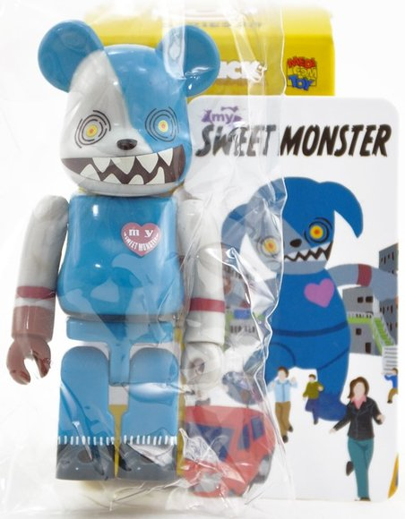 Sweet Monster - Secret Be@rbrick Series 28 figure, produced by Medicom Toy. Toy card.