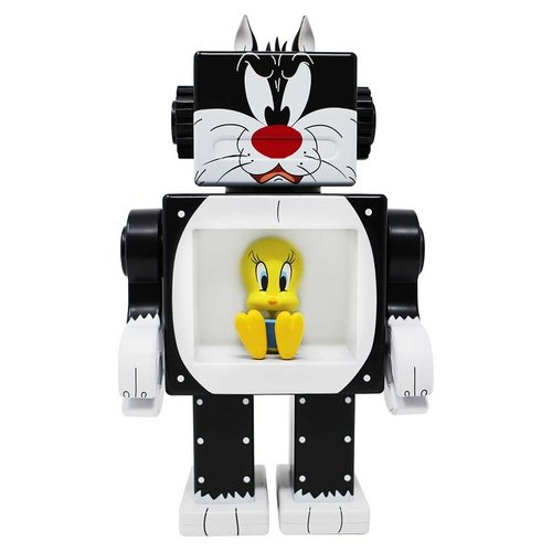 Sylvester OBOT figure by Action City, produced by Gagatree. Front view.