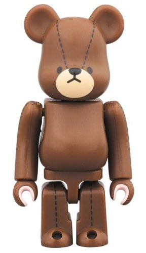 The bearss school - Jackie BE@RBRICK figure, produced by Medicom Toy. Front view.
