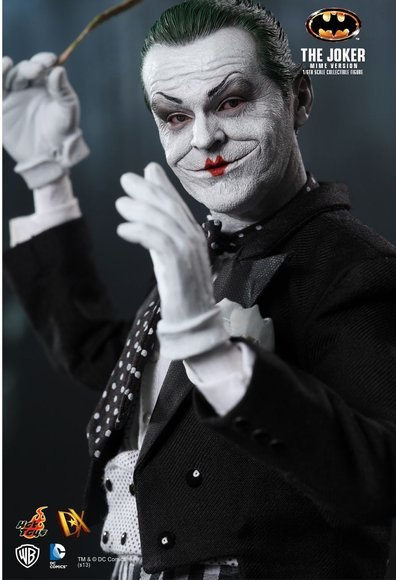 The Joker (Mime Version) figure by Jc. Hong, produced by Hot Toys. Detail view.