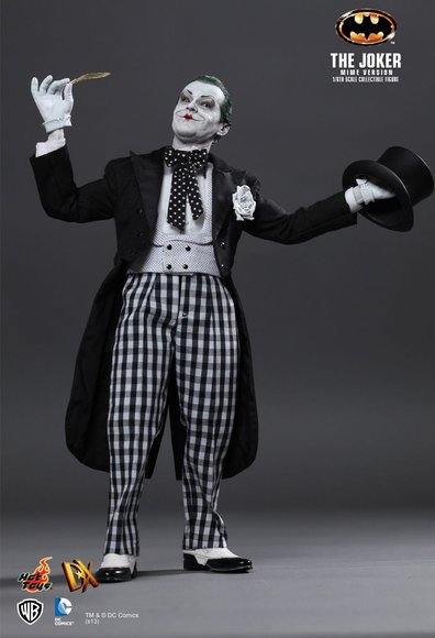 The Joker (Mime Version) figure by Jc. Hong, produced by Hot Toys. Front view.