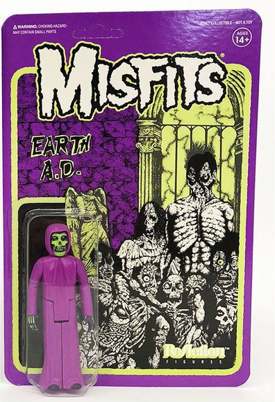 The Misfits - The Fiend (Earth AD) figure by Super7, produced by Funko. Packaging.