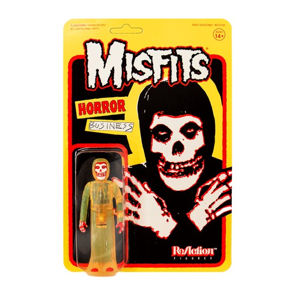 The Misfits - The Fiend (Horror Business) figure by Super7, produced by Funko. Packaging.