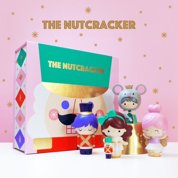 The Nutcracker figure by Momiji, produced by Momiji. Detail view.