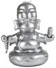The Simpsons 25th Anniversary 7-INCH Silver Homer Buddha