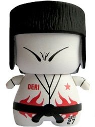CIBoys Sports Series 1 - Deri Judo figure by Red Magic, produced by Red Magic. Front view.