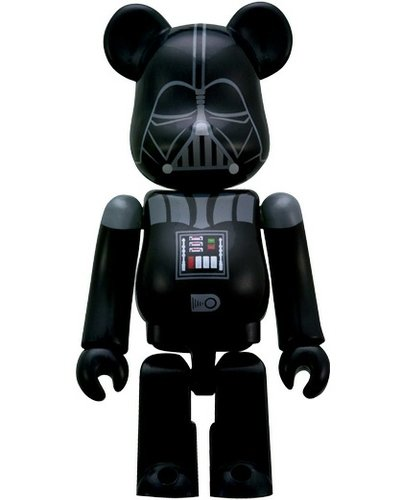 Darth Vader 70% Be@rbrick figure by Lucasfilm Ltd., produced by Medicom Toy. Front view.