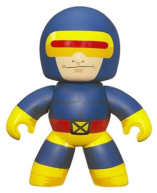 Cyclops figure, produced by Hasbro. Front view.
