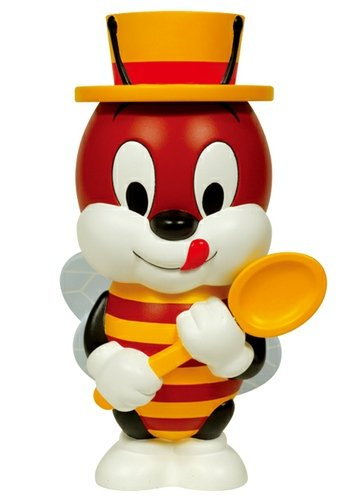 Honey - VCD No.53 figure by KelloggS, produced by Medicom Toy. Front view.