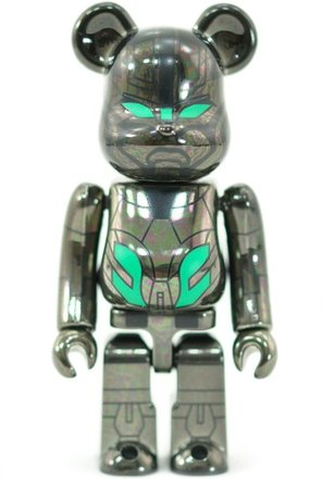 Real Steel Zeus - Secret SF Be@rbrick Series 23 figure, produced by Medicom Toy. Front view.