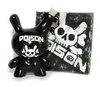 "Poison II 3"" Dunny Black"