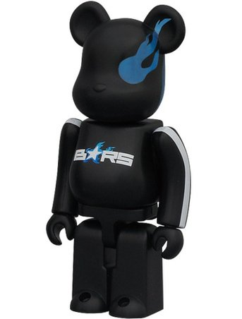 B★RS Project - SF Be@rbrick Series 22 figure by Shinobu Yoshioka, produced by Medicom Toy. Front view.