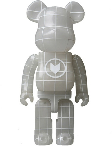 Nort Be@rbrick 400% - Blue GID