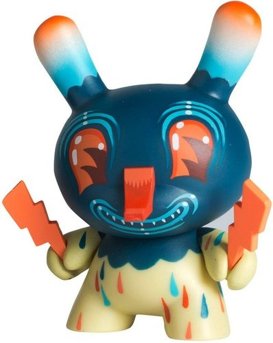 (Untitled)  figure by Travis Lampe, produced by Kidrobot. Front view.