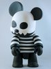 Black & White Toyer Bear