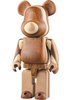 Layered Wood Be@rbrick 400%