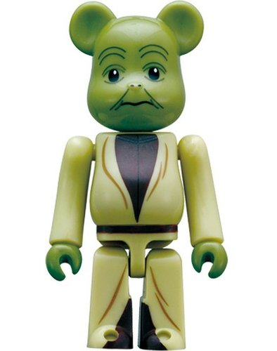 Yoda 70% Be@rbrick figure by Lucasfilm Ltd., produced by Medicom Toy. Front view.