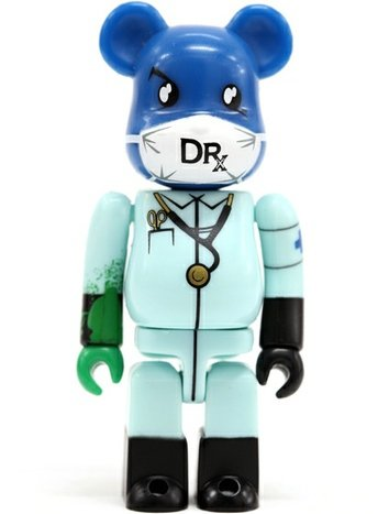Dr. Romanelli - SF Be@rbrick Series 14 figure by Dr. Romanelli, produced by Medicom Toy. Front view.