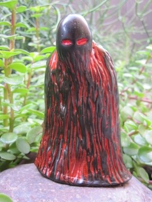 Ghoul figure by Ricky Wilson, produced by Velocitron. Front view.