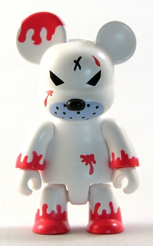 Redrum Smoke Free figure by Frank Kozik, produced by Toy2R. Front view.