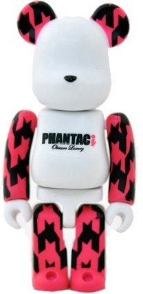 PHANTACi - Secret Artist Be@rbrick Series 24 figure by Phantaci, produced by Medicom Toy. Front view.