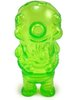 Pocket Globby - Clear Green Unpainted, Artoyz Exclusive
