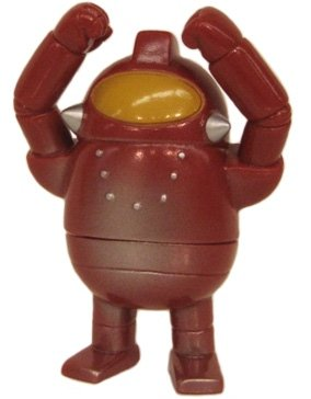 Mini Robot 13 figure by Rumble Monsters, produced by Rumble Monsters. Front view.
