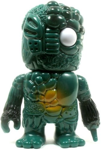 Mini Mutant Chaos - TMNT Tribute figure by Mori Katsura, produced by Realxhead. Front view.