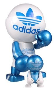 Adidas 60th Anniversary Trexi figure by , produced by Play Imaginative. Front view.