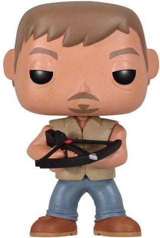 POP! The Walking Dead - Daryl Dixon figure by Funko, produced by Funko. Front view.