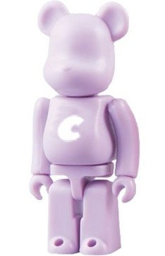 Basic Be@rbrick Series 18 - C figure, produced by Medicom Toy. Front view.