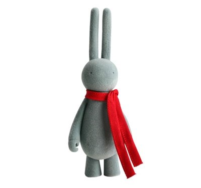 Petit Common Lapin figure by Mr. Clement. Front view.